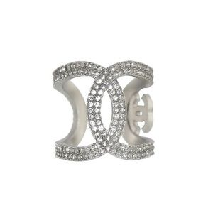 Chanel CC Crystals Ring Rare/Limited Edition